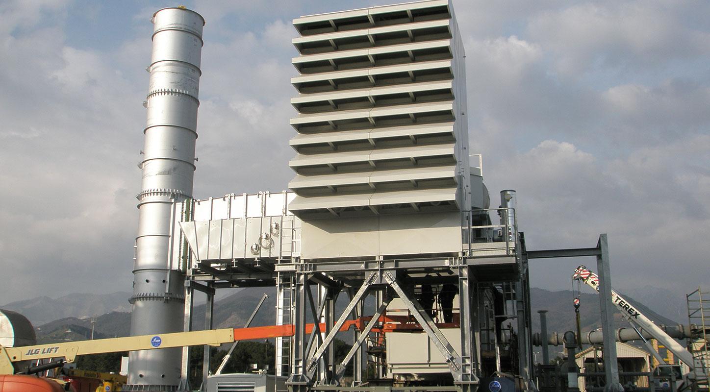 Tallarini specializzata nella costruzione di ausiliari per turbine a gas quali camere filtri, condotti di aspirazione, condotti di scarico e cabinati.